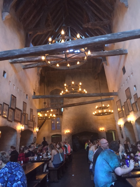 Breakfast at the Leaky Cauldron at the Wizarding World of Harry Potter